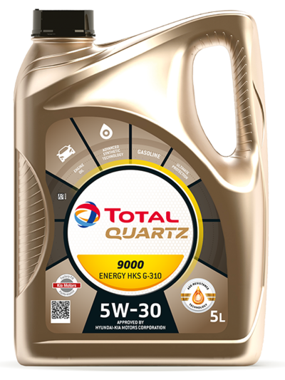 TOTAL QUARTZ 9000 ENERGY HKS 5W30 5L