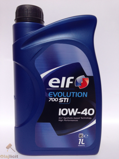 ELF EVOLUTION 700 STI 10W40 1L
