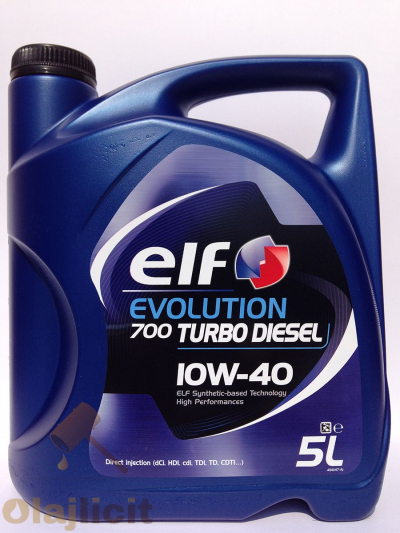 ELF EVOLUTION 700 TURBO DIESEL 10W40 5L