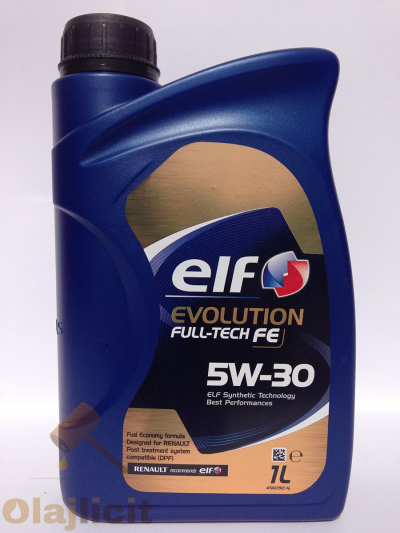 ELF EVOLUTION FULLTECH FE 5W30 1L