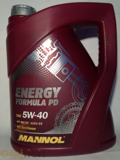 MANNOL ENERGY FORM PD 5W40 5L