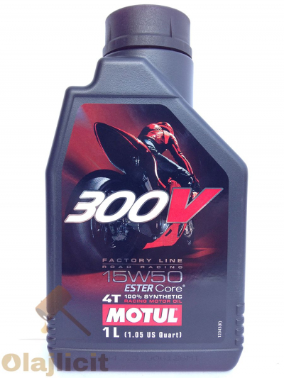 MOTUL 300V 4T FACTORY LINE ROAD RACING 15W50 1L