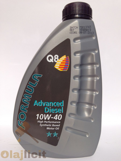 Q8 ADVANCED DIESEL 10W40 1L