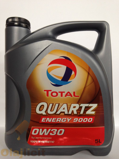 TOTAL QUARTZ 9000 ENERGY 0W30 5L