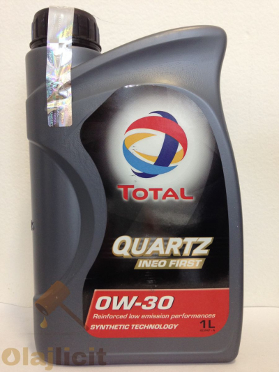 TOTAL QUARTZ INEO FIRST 0W30 1L