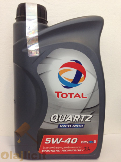 TOTAL QUARTZ INEO MC3 5W40 1L