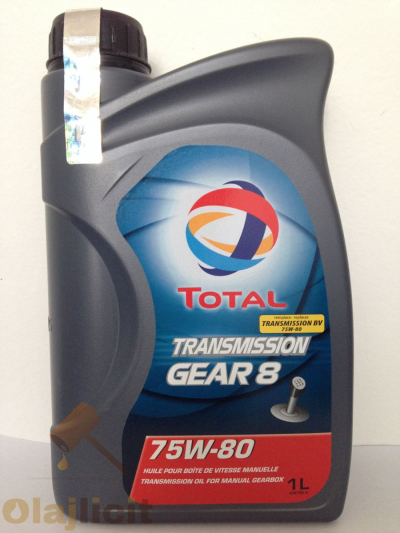 TOTAL TRANSMISSION GEAR 8 75W80 1L